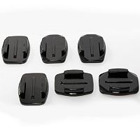 ACTIVEON Camera Curved & Flat Adhesive Mounts