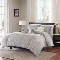 Madison Park Finley 6-piece Duvet Cover Set