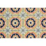 nuLOOM Air Libre Sevilla Tiles Indoor Outdoor Rug