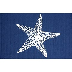 nuLOOM Air Libre Starfish Indoor Outdoor Rug