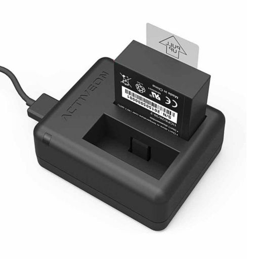 ACTIVEON CX Camera Battery Charger