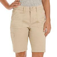 Women's Lee Avery Comfort Waist Cargo Bermuda Shorts