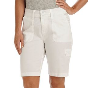 Women's Lee Avery Comfort Waist Cargo Bermuda Shorts