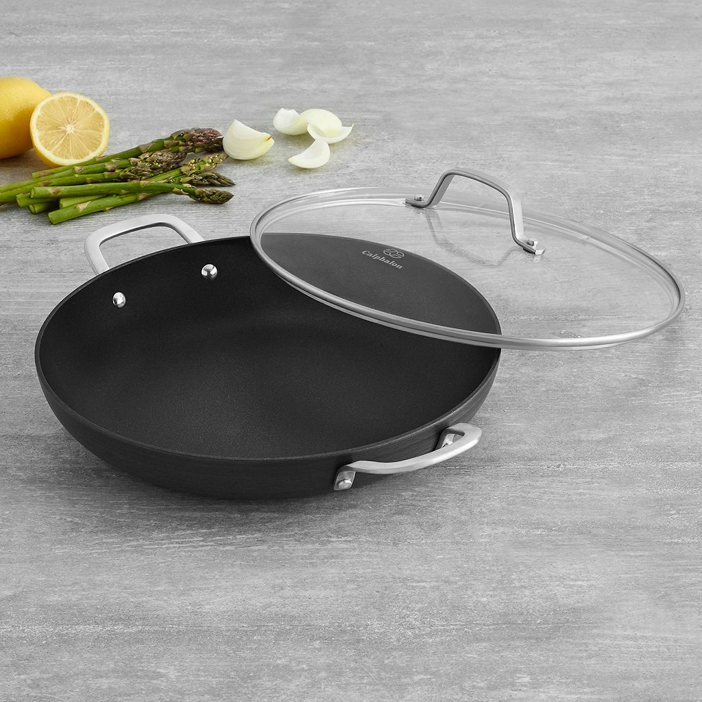 Calphalon Classic 12-in. Hard-Anodized Nonstick Aluminum Everyday Pan