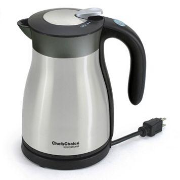 Chef'sChoice International KeepHot 1.2-Liter Electric Teakettle