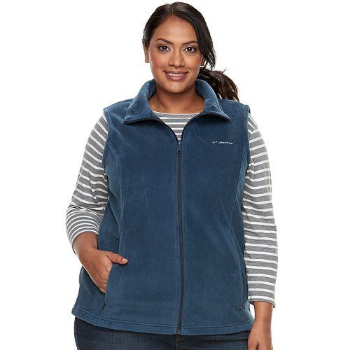 Plus Size Columbia Three Lakes Fleece Vest