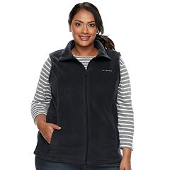 Plus Size Columbia Three Lakes Fleece Vest