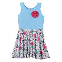 Toddler Girl Design 365 Flower Skirt Pullover Dress