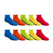 Boys Tek Gear® 10-pack Low-Cut Performance Socks