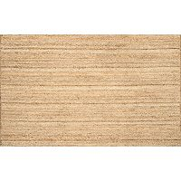 nuLOOM Eco Braided Reversible Jute Rug