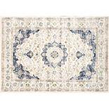 nuLOOM Persian Vintage Framed Floral Rug