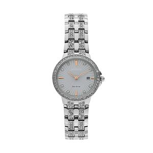 Citizen Eco-Drive Women's Silhouette Crystal Stainless Steel Watch - EW2340-58A