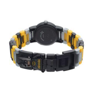 LEGO Kids' DC Comics Batman Minifigure Interchangeable Watch Set