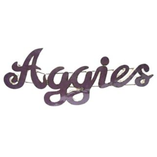 Texas A&M Aggies Recycled Metal Wall Décor