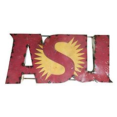 Arizona State Sun Devils Recycled Metal Wall Décor