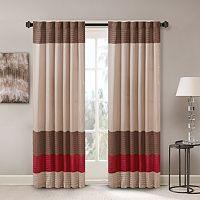 Madison Park Tradewinds Polyoni Pintuck Curtain - 50'' x 84''