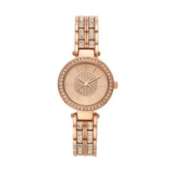 Jennifer Lopez Women's Bethany Crystal Watch