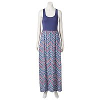 Juniors' Mudd Racerback Maxi Dress