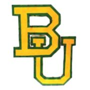 Baylor Bears Recycled Metal Wall Décor