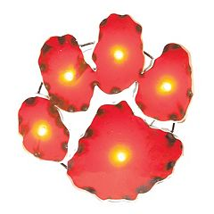 Clemson Tigers Recycled Metal Lighted Wall Décor