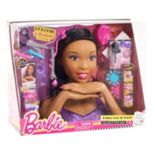 Barbie Deluxe Brown Hair Styling Head by Mattel