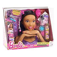 Barbie Deluxe Brown Hair Styling Head by Mattel