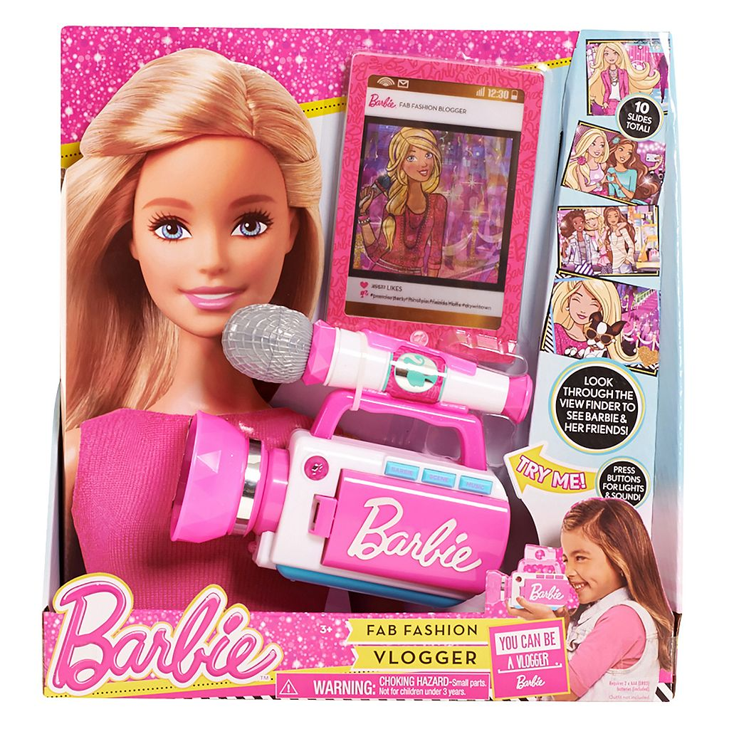 Barbie Trend Reporter by Mattel