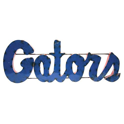 Florida Gators Recycled Metal Wall Décor