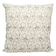 Mina Victory Wildflowers Beaded Throw Pillow