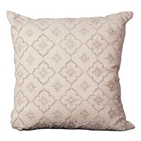 Mina Victory Medallion Embroidered Throw Pillow