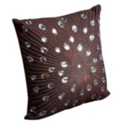 Mina Victory Sunburst Beaded Throw Pillow