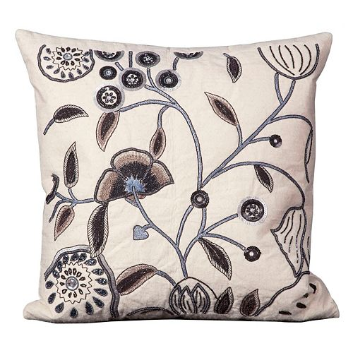 Mina Victory Floral Throw Pillow