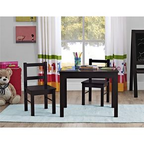 Ameriwood Hazel Table & Chair Set