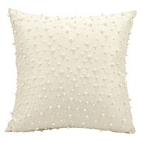 Mina Victory Random Faux Pearls Beaded Throw Pillow