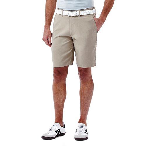 Men's Haggar In Motion Melange Flat-Front Shorts