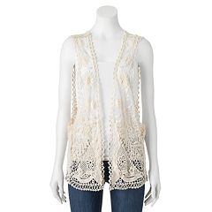 Manhattan Accessories Co. Crochet Vest