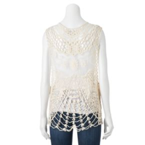 Manhattan Accessories Co. Crochet Vest
