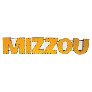 Missouri Tigers Recycled Metal Wall Décor