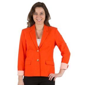 Women's Harve Benard Linen-Blend Blazer