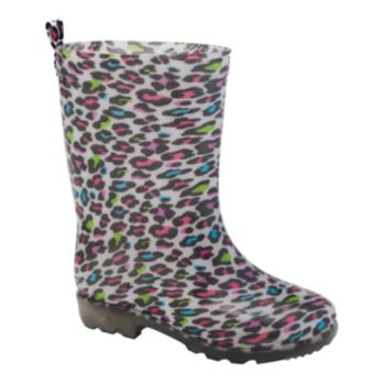 Girls Printed Rain Boots