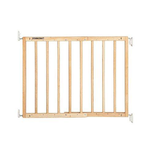 Stork Craft Easy Walk-Thru Wooden Safety Gate