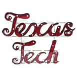 Texas Tech Red Raiders Recycled Metal Lighted Wall Décor