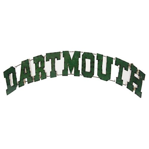 Dartmouth College Recycled Metal Wall Décor