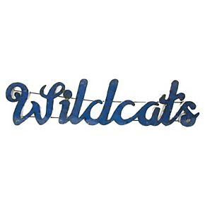Kentucky Wildcats Recycled Metal Wall Décor
