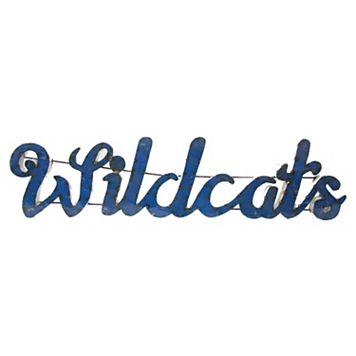 Kentucky Wildcats Recycled Metal Wall Décor