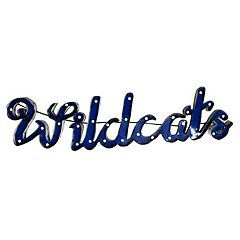 Kentucky Wildcats Recycled Metal Lighted Wall Décor