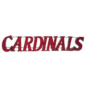 Louisville Cardinals Recycled Metal Wall Décor