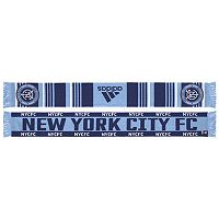 Adult adidas New York City FC Team Slogan Scarf