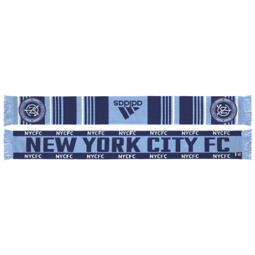 Adult adidas New York City FC Team Slogan Scarf