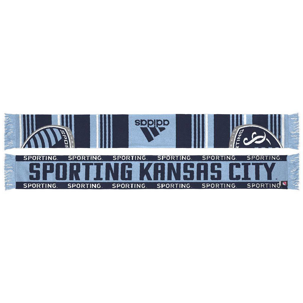 Adult adidas Sporting Kansas City Team Slogan Scarf
